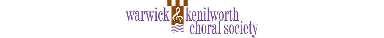 Warwick and Kenilworth Choral Society – Making music in South Warwickshire for over 60 years